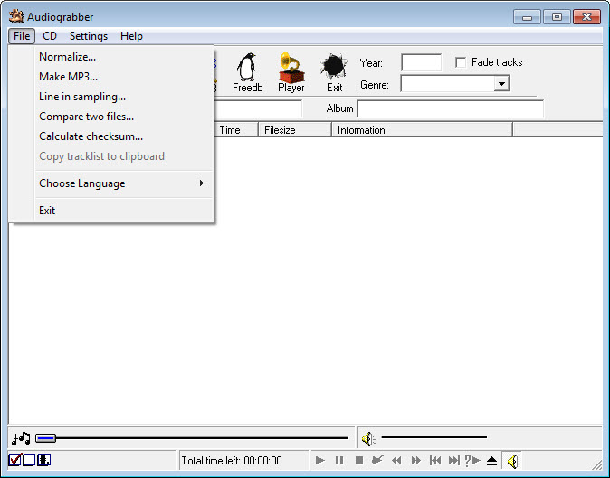 WINDOWS 7 TÉLÉCHARGER AUDIOGRABBER POUR