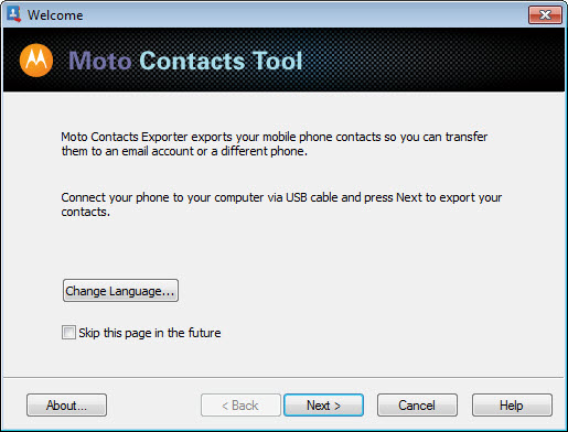 Moto Contacts Tool 1 0 Free Download for Windows 10, 8 and 7