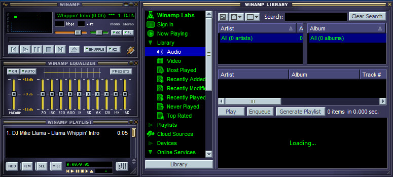 Winamp Full 5 666 Build 3516 Free Download for Windows 10, 8