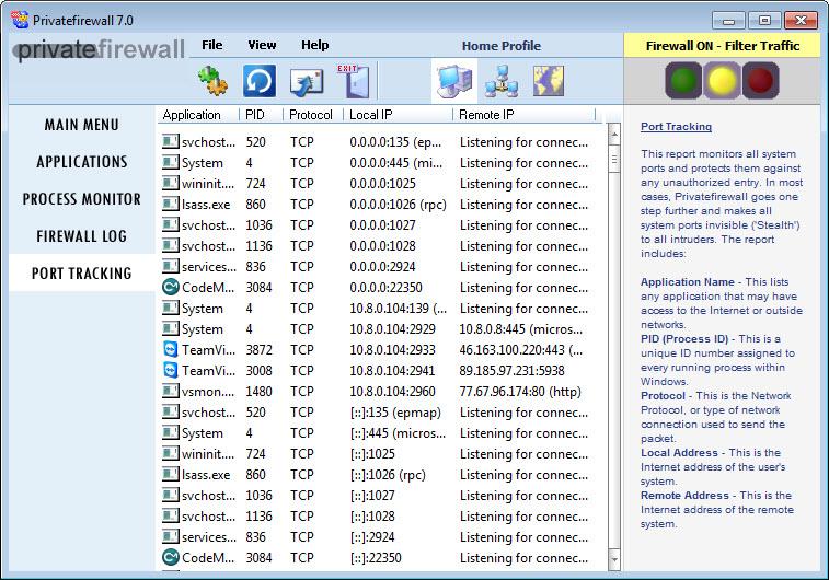 private firewall windows 10