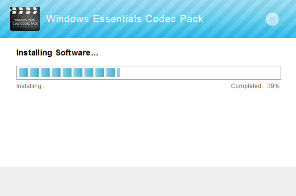 Windows Essentials Codec Pack 5 0 Free Download for Windows
