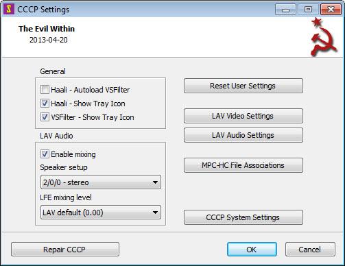 cccp codec pack gratuit