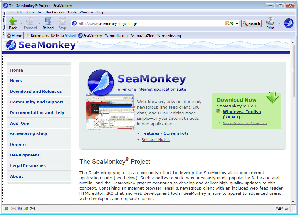 SeaMonkey 2 49 4 Free Download for Windows 10, 8 and 7