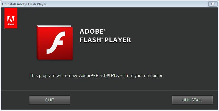 Adobe Flash Player Uninstaller 32 0 0 223 Free Download for Windows