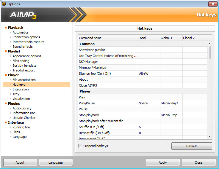 AIMP 4 60 Build 2146 Free Download for Windows 10, 8 and 7