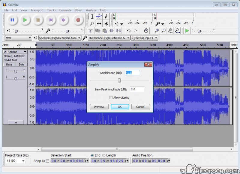 Audacity 2 3 2 Free Download for Windows 10, 8 and 7 - FileCroco com