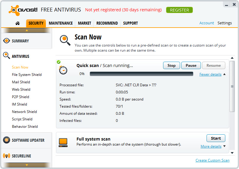 Avast Free Antivirus 19 1 2360 Free Download For Windows 10 8 And