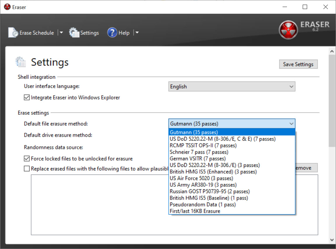 eraser software download
