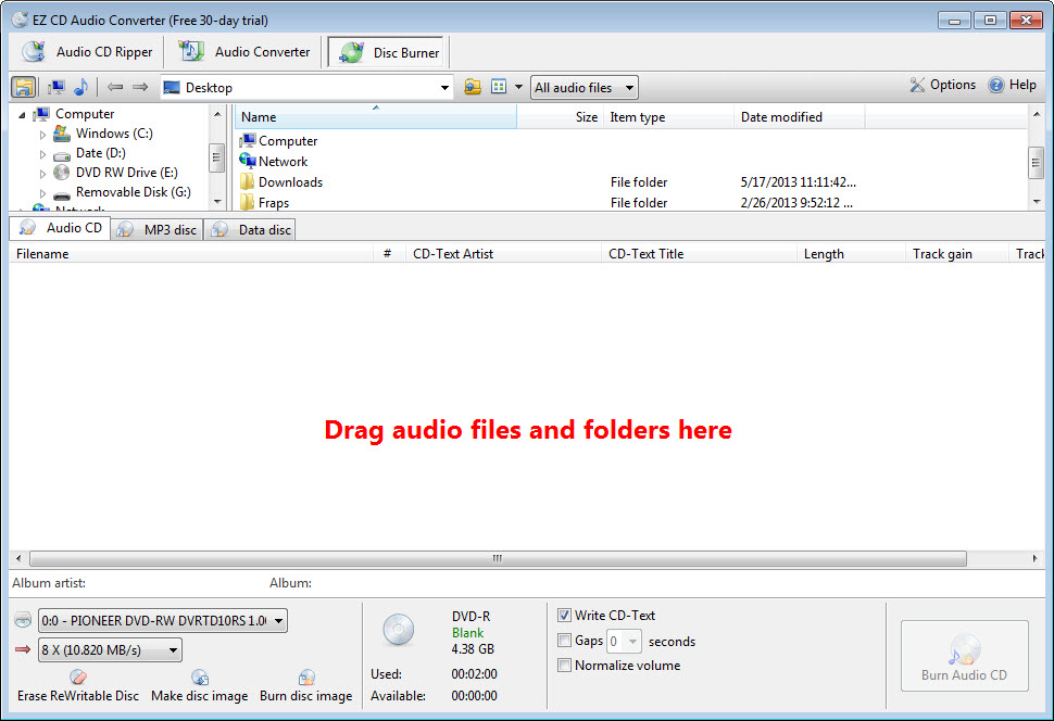 EZ CD Audio Converter 8 5 Free Download for Windows 10, 8