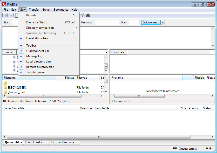 FileZilla 3 44 2 Free Download for Windows 10, 8 and 7