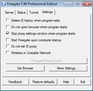 freegate professional 7.27