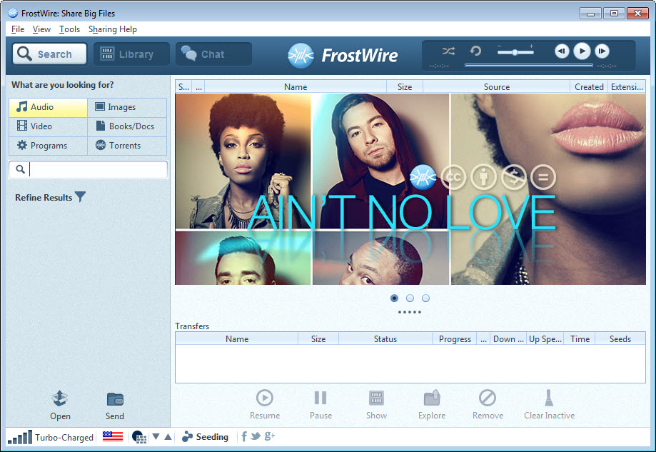 FrostWire 6 8 1 Free Download for Windows 10, 8 and 7 - FileCroco com
