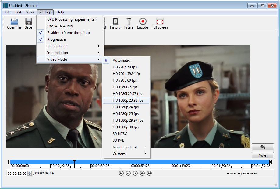 shotcut for windows 7 free download