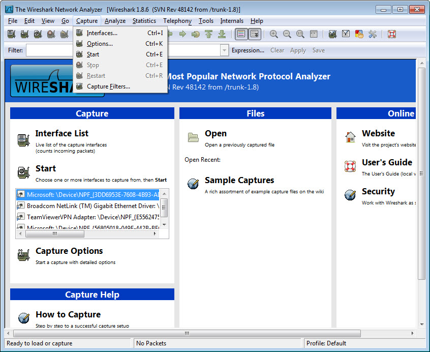 Download Wireshark (bit) for Windows
