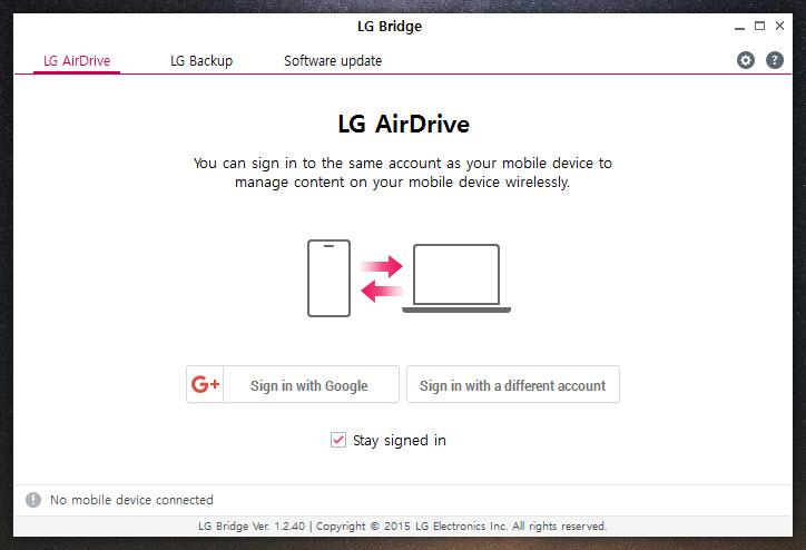LG Bridge 1 2 54 Free Download for Windows 10, 8 and 7 - FileCroco com