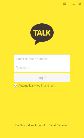 KakaoTalk for PC 3 0 3 Build 2183 Free Download for Windows 10, 8