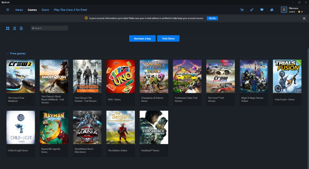 Uplay 93 0 6319 0 Free Download for Windows 10, 8 and 7 - FileCroco com