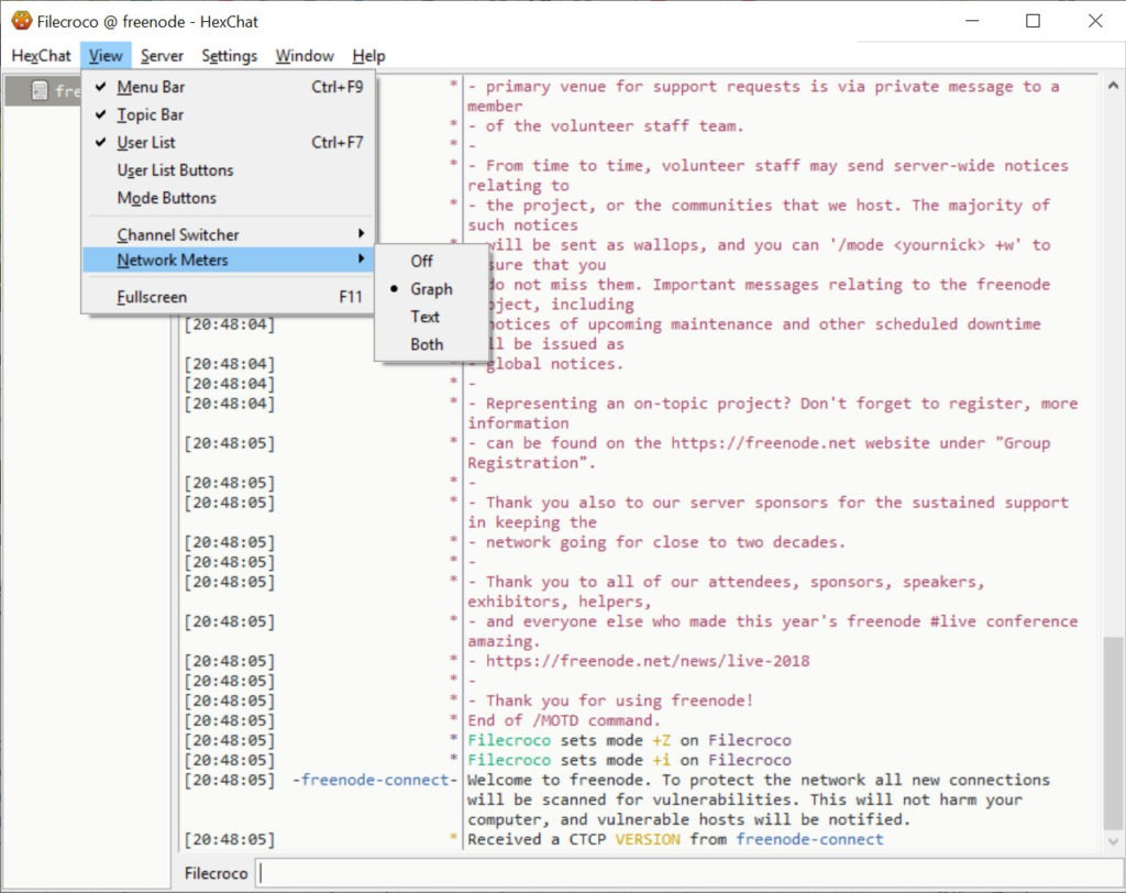 HexChat 2 14 2 Free Download for Windows 10, 8 and 7 - FileCroco com