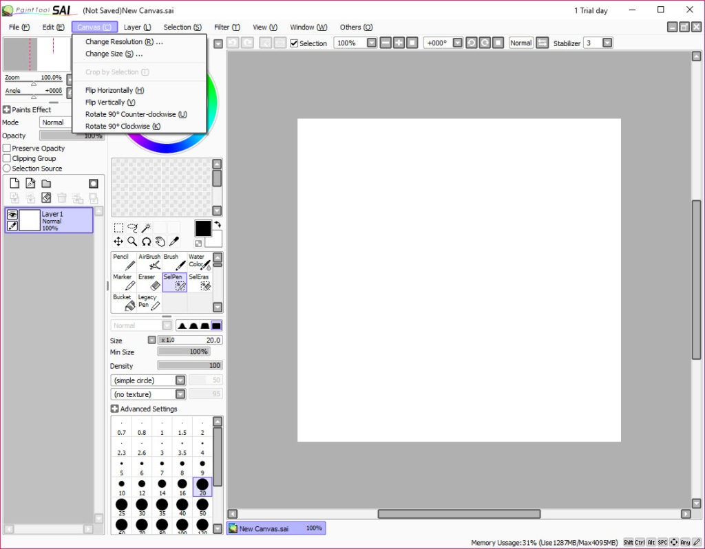paint tool sai 2 free crack