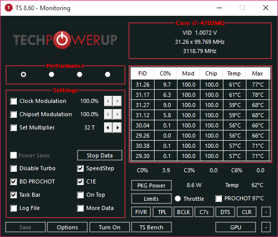 ThrottleStop 8 70 6 Free Download for Windows 10, 8 and 7