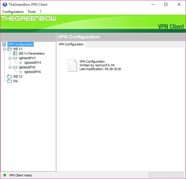 TheGreenBow VPN Client 6 44 Build 003 Free Download for Windows 10