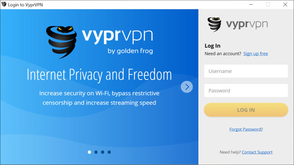 VyprVPN 2 16 4 9212 Free Download for Windows 10, 8 and 7