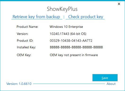 download product key finder for windows 10