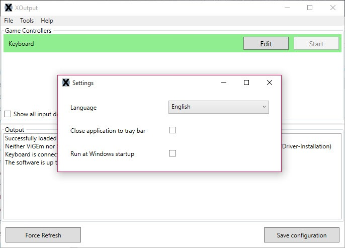 XOutput 3 22 Free Download for Windows 10, 8 and 7 - FileCroco com