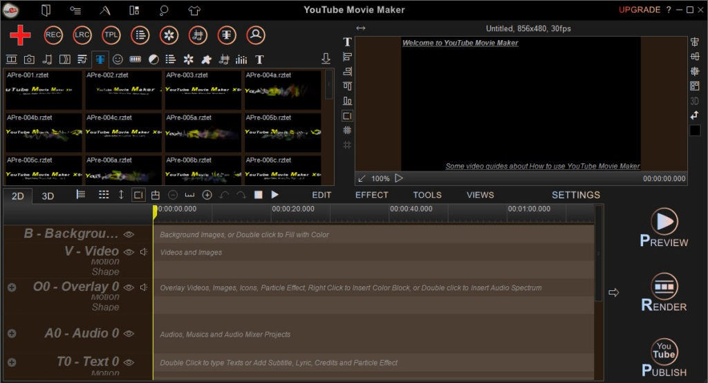 Download youtube movie maker 18. 16 (x64 & x32).