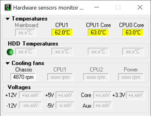 Cpu Core Monitor