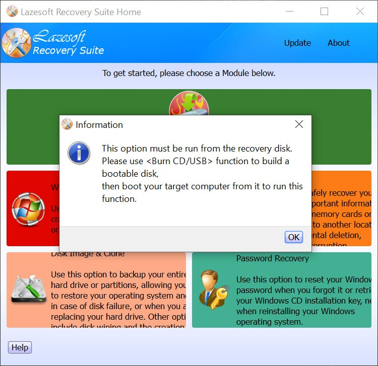 lazesoft password recovery download