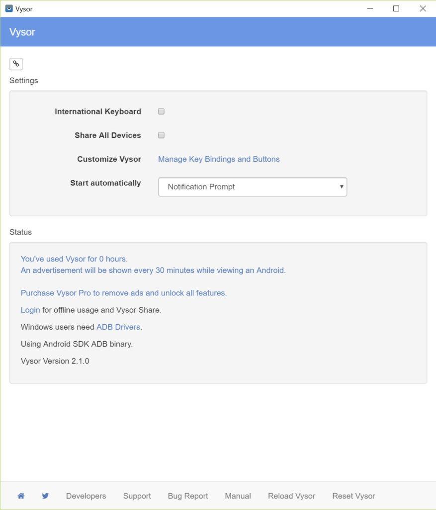 Vysor 2 1 7 Free Download for Windows 10, 8 and 7 - FileCroco com