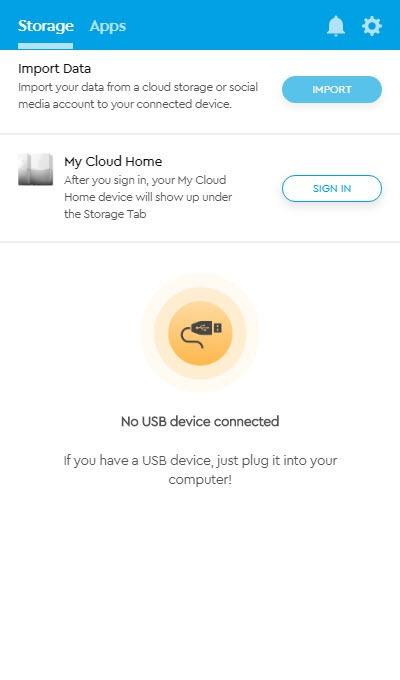 Wd My Cloud Home Dashboard