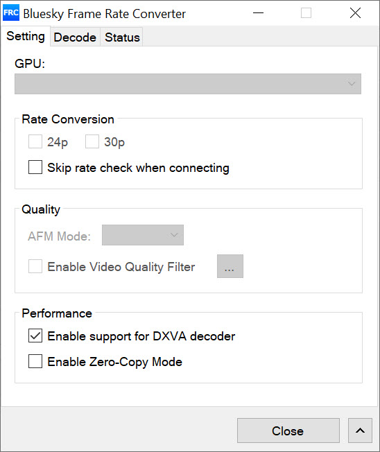 Bluesky Frame Rate Converter 2 14 1 Free Download for