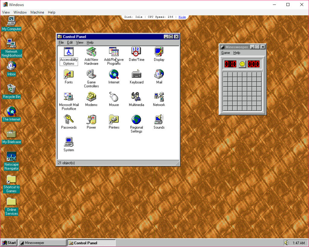 Windows 95 2 1 1 Free Download for Windows 10, 8 and 7 - FileCroco com
