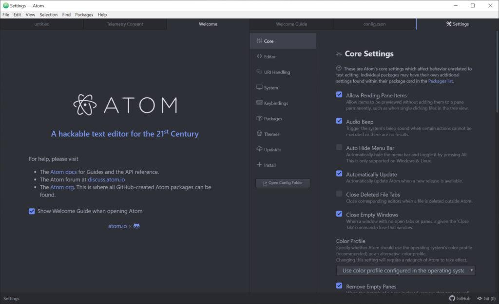 Atom 1 36 1 Free Download for Windows 10, 8 and 7 - FileCroco com