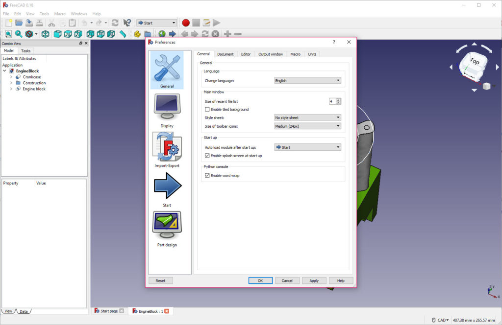 FreeCAD 0 18 1 Revision 16110 Free Download for Windows 10, 8 and 7